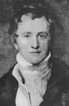 Retrato de Humphry Davy