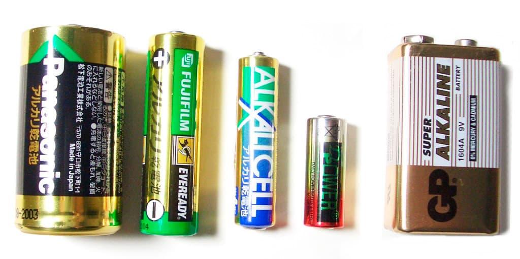 Qu es una pila o bater a seca curiosoando - Tipos de pilas recargables ...