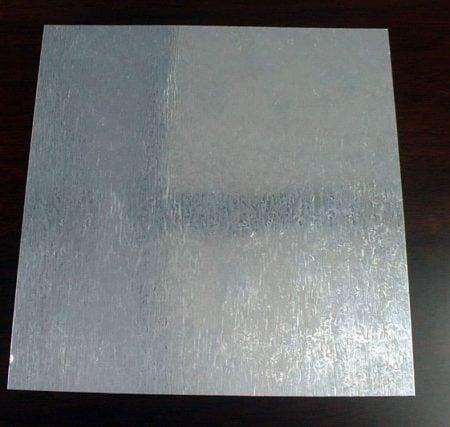 Placa de acero de acero galvanizado