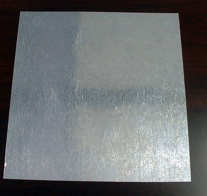 Placa de acero galvanizado curiosoando for Placa de acero