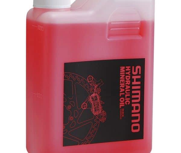 Botella de aceite mineral lubricante