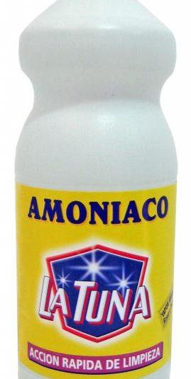 Botella de amoníaco para limpiar