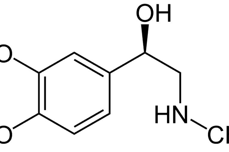 Fórmula adrenalina (epinefrina)