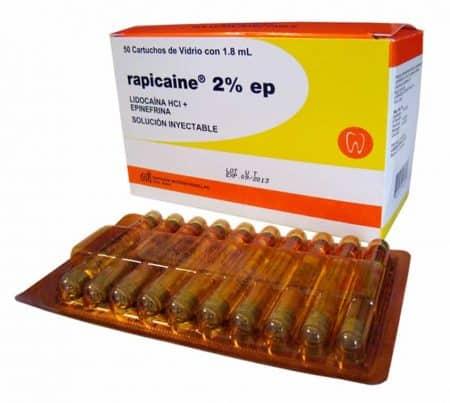 Rapicaine - combinación epinefrina y lidocaína