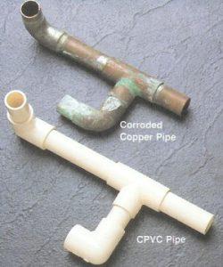 Tubería de cobre vs tubería de CPVC