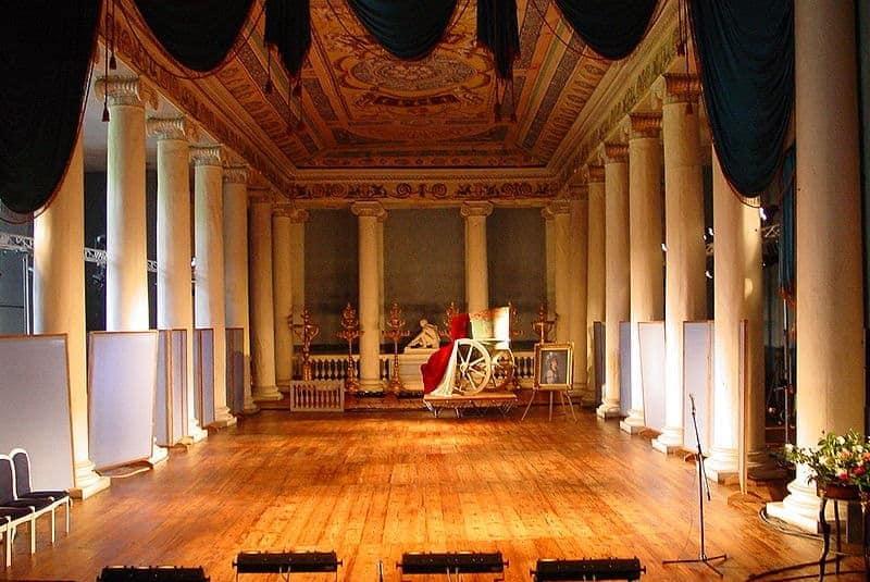 Teatro neoclásico (Palacio Ostankino)
