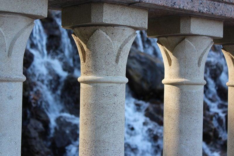 Las columnas soportan fuerzas axiales