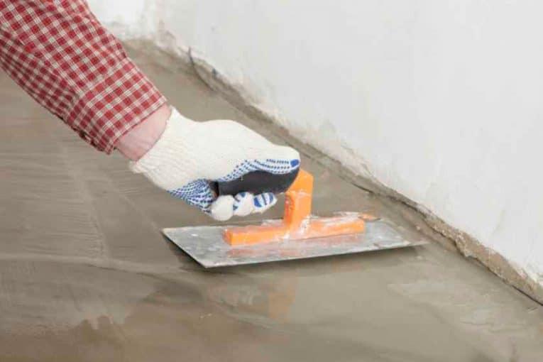Repellando cemento hidráulico