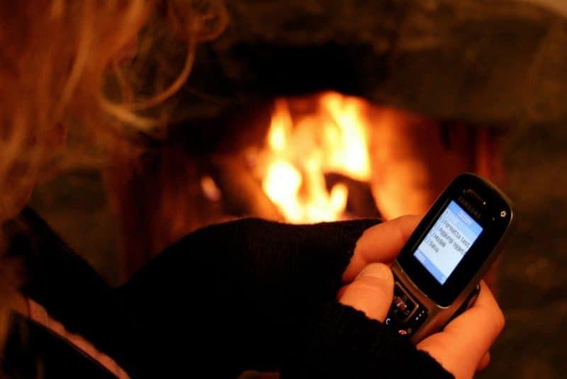 Enviando un SMS