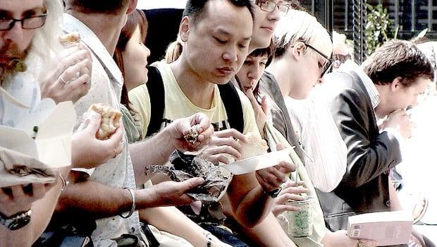 Comer en la calle