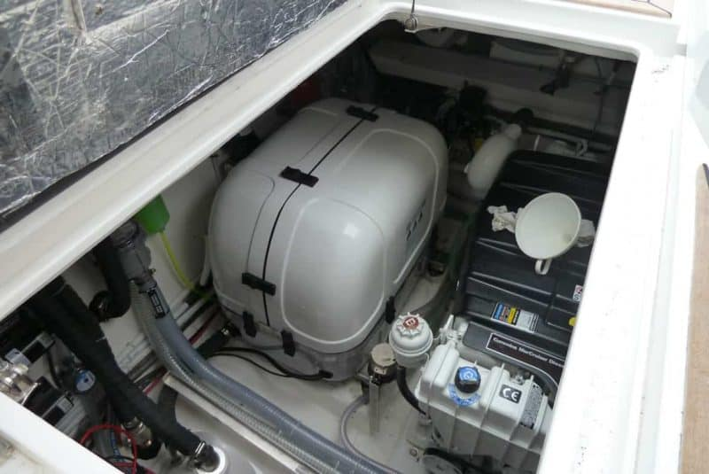 Generador marino de diesel
