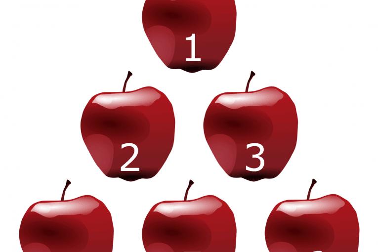 Números naturales: contar manzanas
