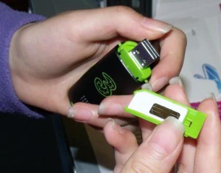 Módem USB portátil