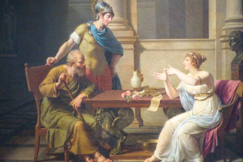 Método Socrático: El Debate de Sócrates y Aspasia