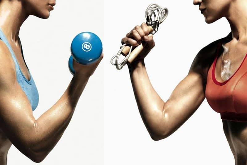 Aerobic vs pesas