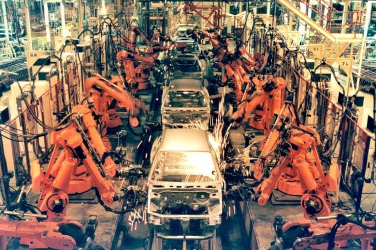 Cadena de montaje rover 200