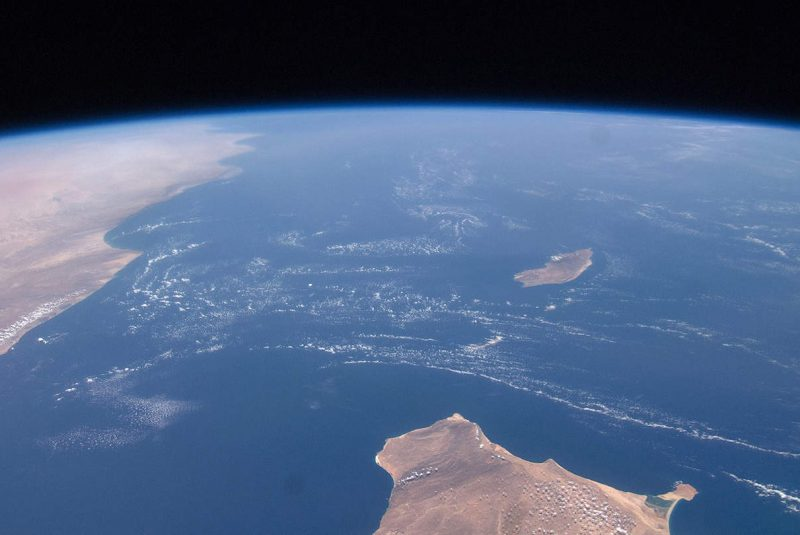 Socotra desde espacio