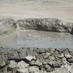 Volcán de lodo. Parque Nacional de Gobustán
