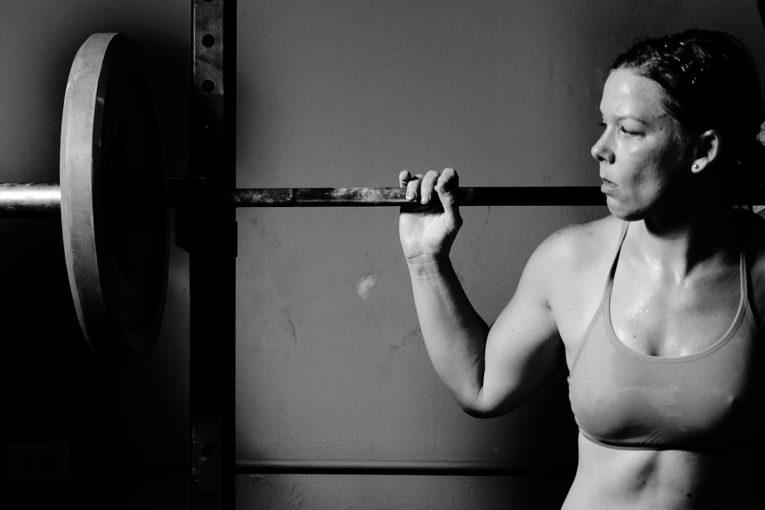 Levantamiento de pesas femenino
