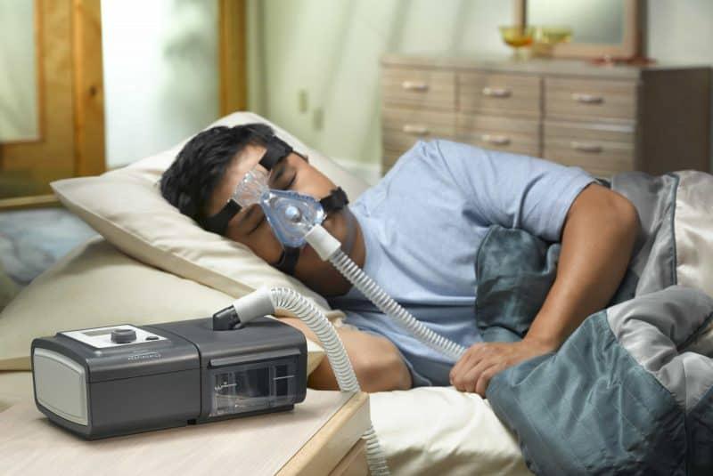BiPAP - apnea del sueño