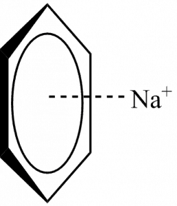 Cation-Pi interaction between benzene and sodium
