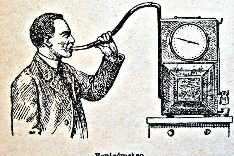 Espirómetro (ilustración)