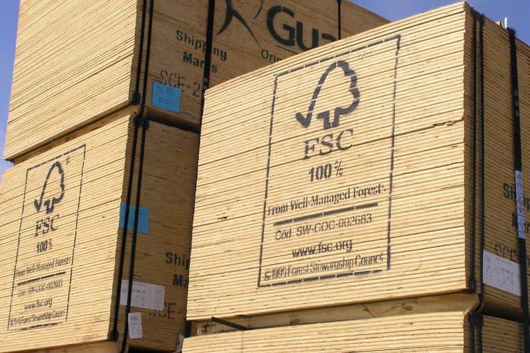 Tablones de madera FSC