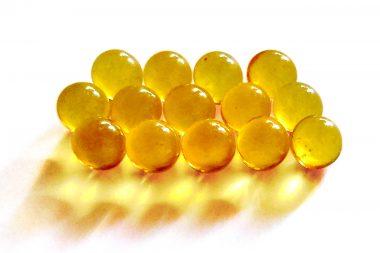 Cápsulas de aceite de hígado de bacalao