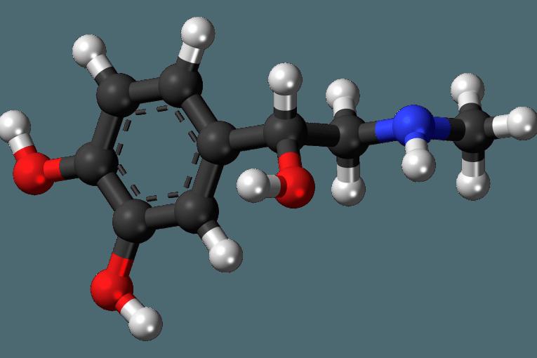 Epinefrina 3D