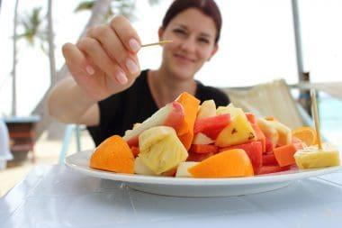 Fruta para desayunar