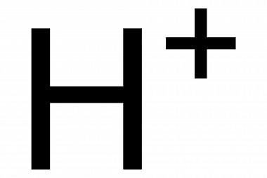 H+ (protón)