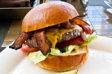 Hamburguesa con beicon