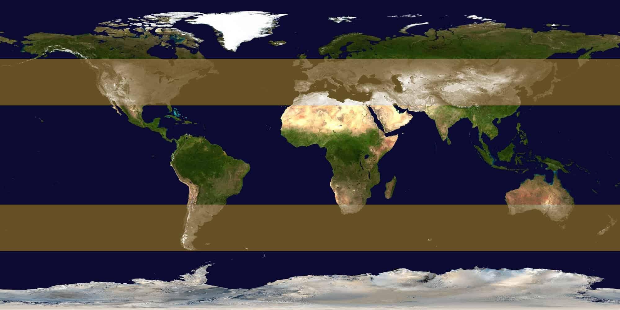 Zonas de formación de ciclones extratropicales
