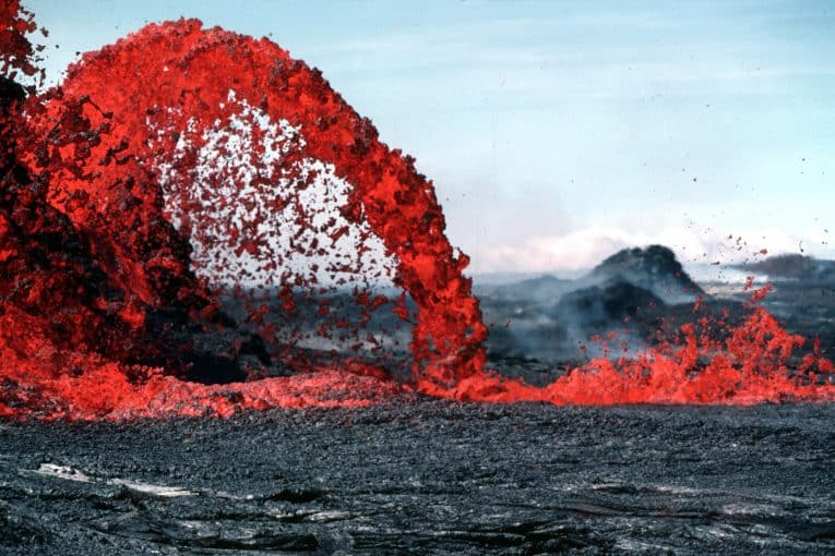 Pahoeoe, fuente de lava