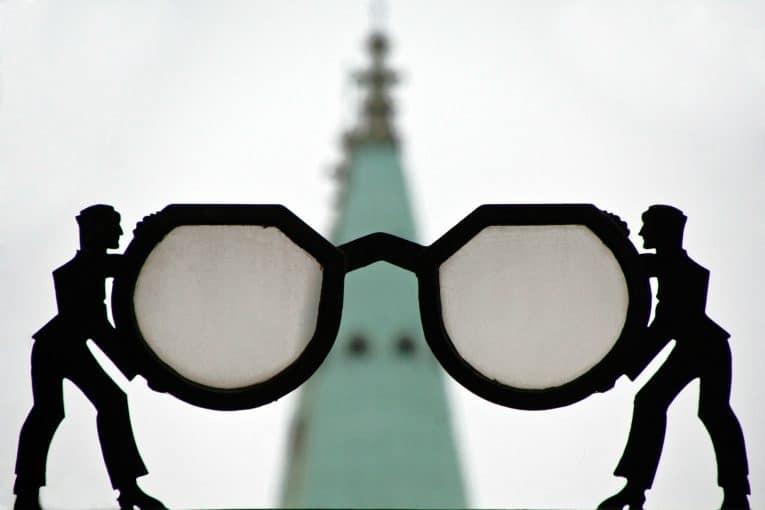 Gafas borrosas