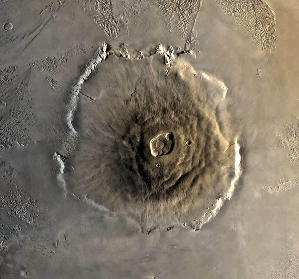 Monte Olimpo (Marte)