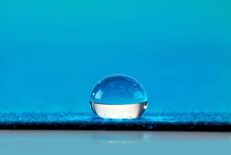 Superficie hidrofóbica