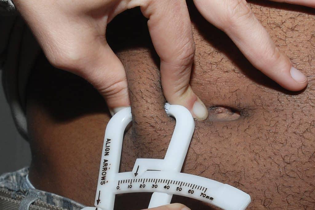 Calibrador - grasa corporal