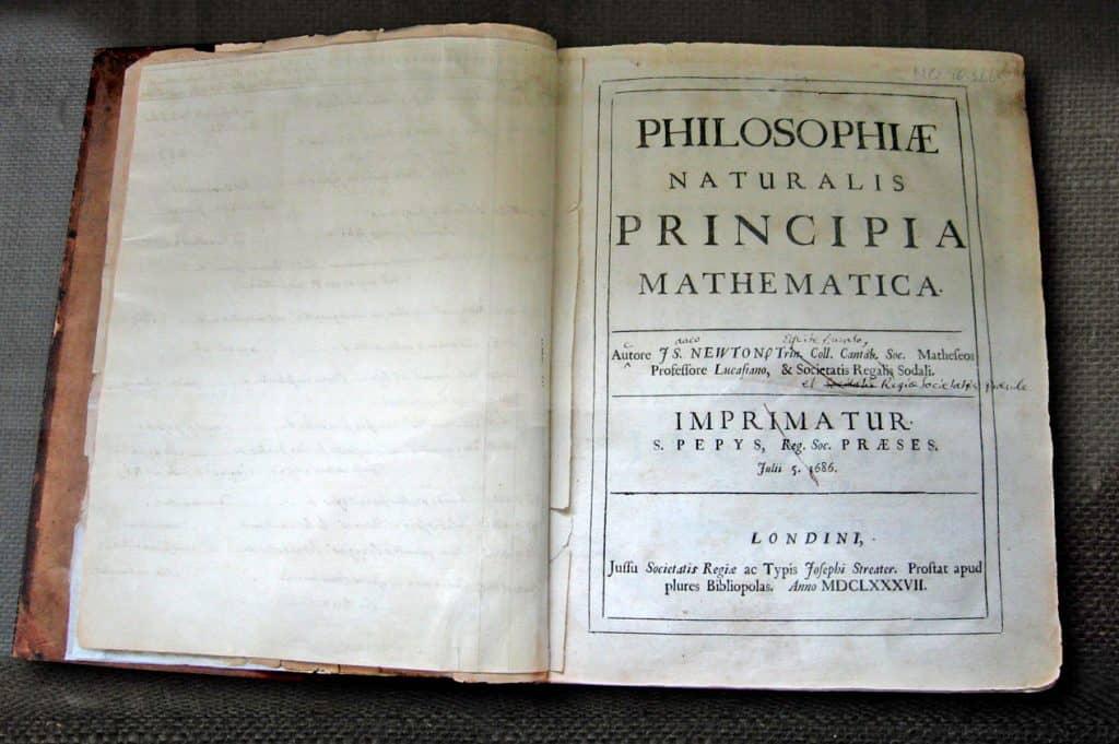 Philosophiæ naturalis principia mathematica (original)