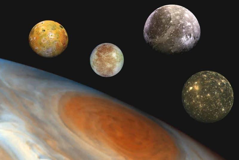 Satélites galileanos de Júpiter