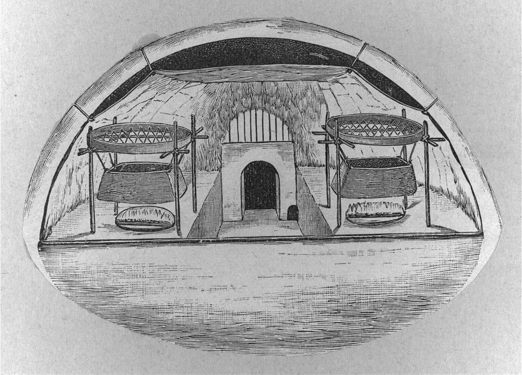 Dibujo de un iglú