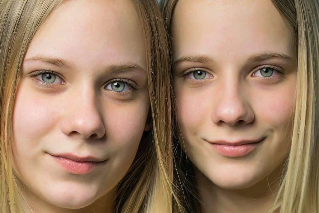 Dos gemelas idénticas