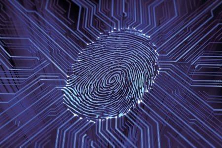 Huella dactilar digital