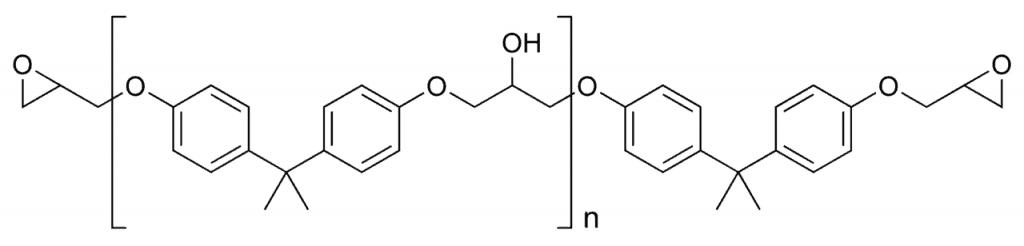 Estructura general de un poliepóxido