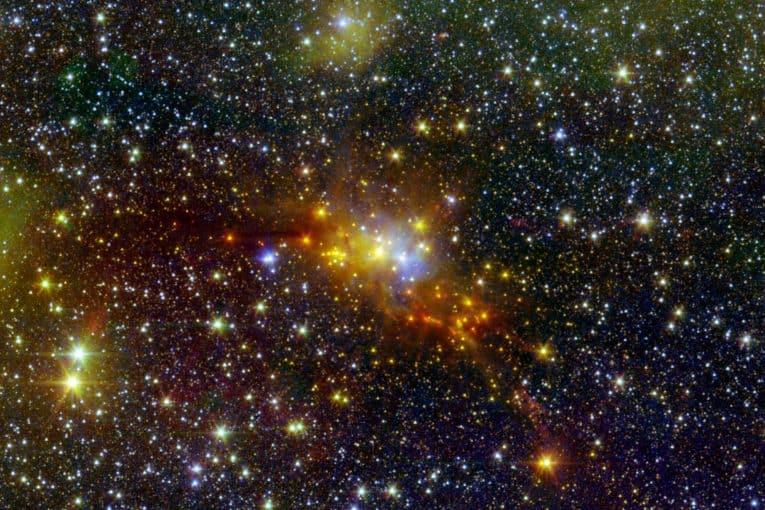 Nube de formación estelar de la Serpiente