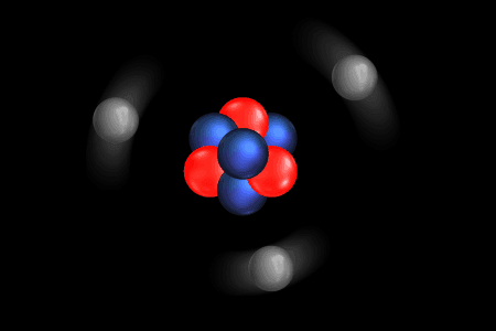 Átomo de Litio (representación)