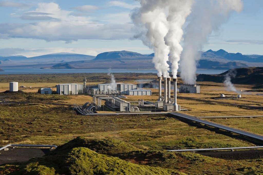 Central geotérmica de Nesjavellir, Islandia