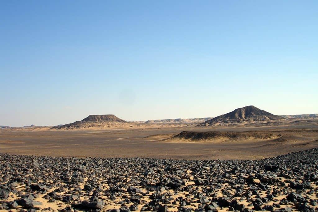 El Desierto Negro, Egipto