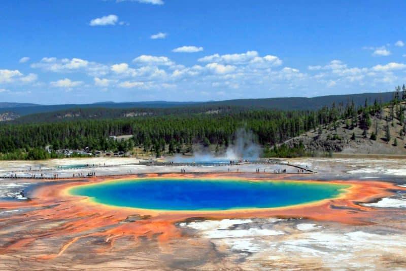 Gran fuente prismatica (Yellowstone)