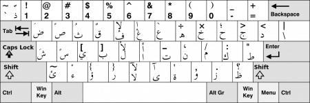 Teclado árabe